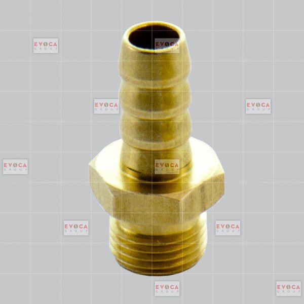 RUBBER HOLDER UNION 1/8' (BRASS)