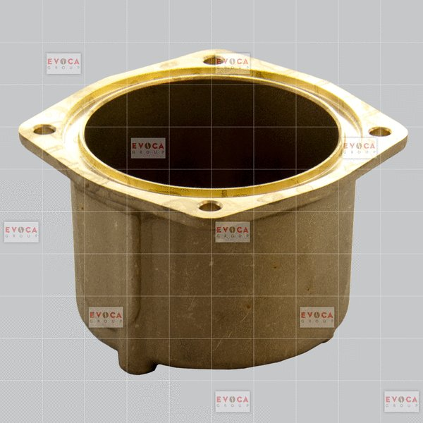 LOWER BOILER-COVER 300CC -BRASS-