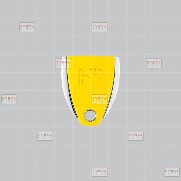 CONTACTLESS KEY YELLOW